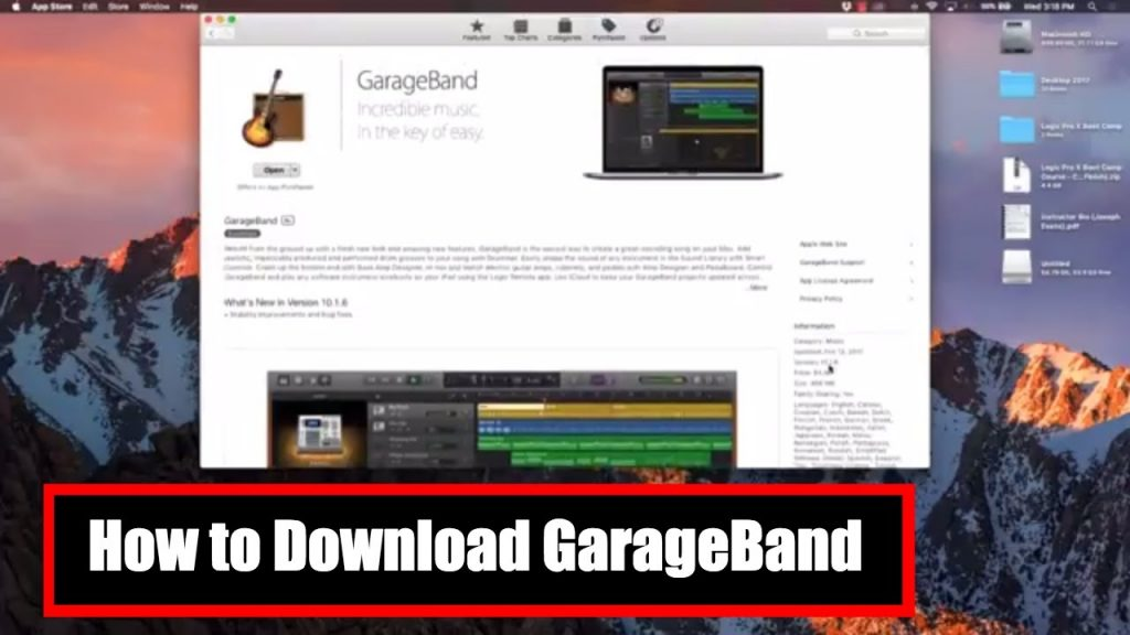 GarageBand for Mac Updated With 2600 New Sound Loops!